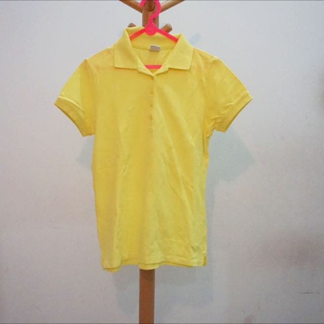 YELLOW BOSSINI POLO SHIRT