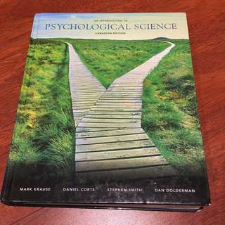 Psychological Science Textbook