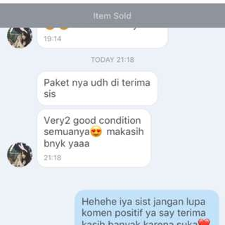 Testimoniiii ❤️❤️❤️❤️ Thank You Dear
