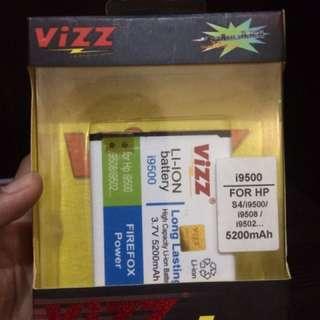 Baterai Vizz Samsung S4