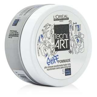 FREE POST WM Pomade Loreal Tecni Art Stiff Pommade 75ml