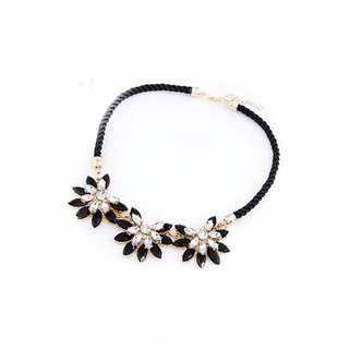 Black MDS Singapore Necklace