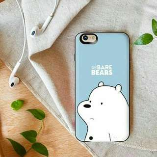 WE BARE BEAR POWERBANK PHONE CASE