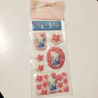 Sanrio Hello Kitty Stickers 貼紙 1997