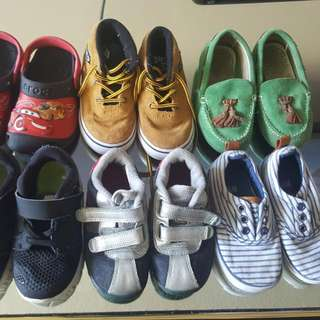 Bundle Of Shoes Size 7-7.5 US