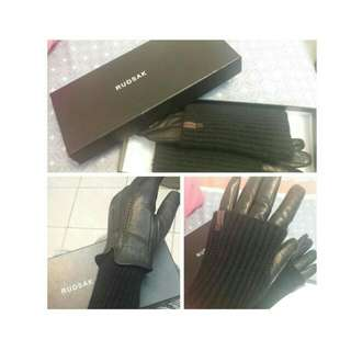 Rudsak Leather Gloves
