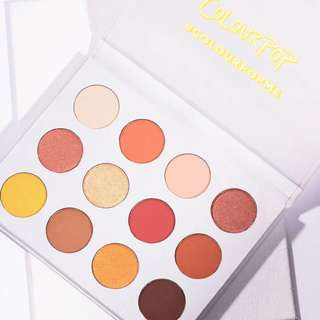 Colourpop Yes, Please! / Cute AF Pressed Powder Shadow Palette