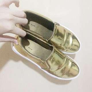 ORIGINAL ZARA GOLD PLIMSOLE