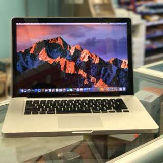 "Apple MacBook Pro 15"" LATE 2011 ***Intel i7 NEW BATTERY FAST ***"