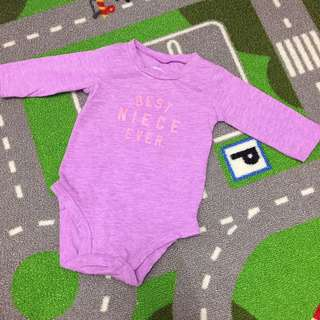 Preloved AUTHENTIC Carter's Romper Best Niece Ever
