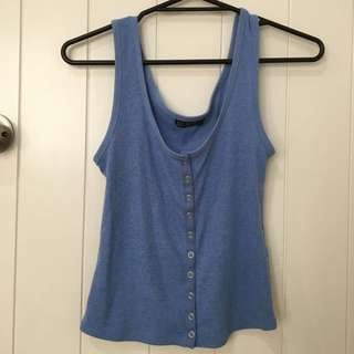 Button Up Singlet