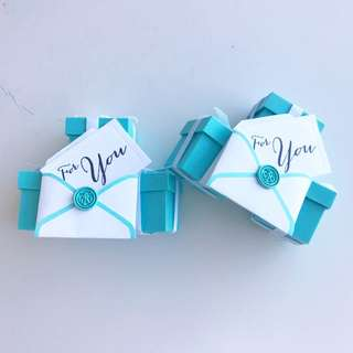 Tiffany & Co. Gift Decor
