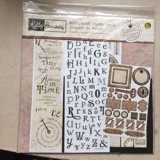 Scrapbook Sticker Set