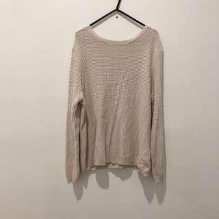 Large Cream Knit Jumper
