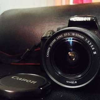 Canon EOS 1100D DSLR with 18-55m Kit Lens