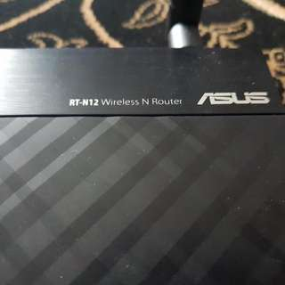 Asus RT-N12 Wireless N Router