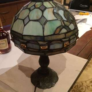 Stained Glass Style Lamp