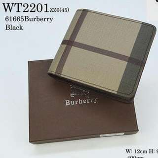 Burberry Men Wallet Premium Quality