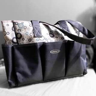Graco 6-pocket Diaper Bag