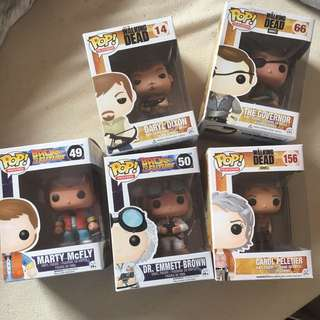 Assorted Pop Vinyls