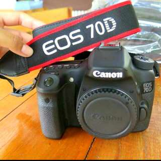 Canon Eos 70d Body Only!