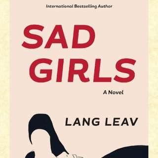 Sad Girls By Lang Leav Free E-book! :)