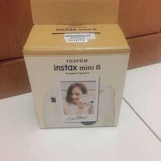 Fujifilm Instax Mini 8s white