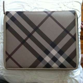 Authentic Burberry iPad Case