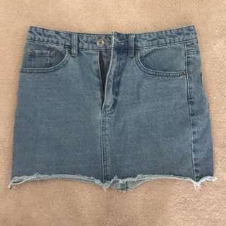 Denim Skirt- Size Medium