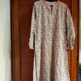 Preloved Zizara Dress Katun Jpg Size M