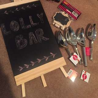 Lolly Bar Accessories
