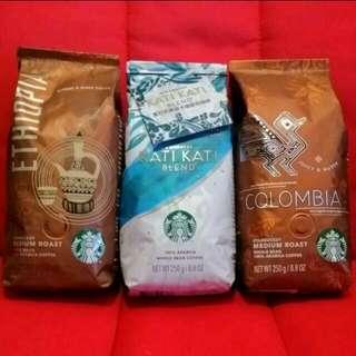 Starbucks 星巴克咖啡豆換領卷