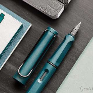 Lamy Safari Petrol Fountain Pen (BNIB)