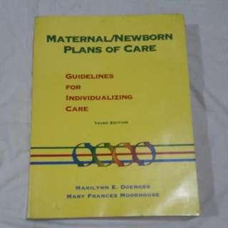 Maternal/Newborn Plans Of Care 3rd Edition