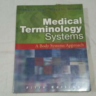 Medical Terminology Book 5th Edition