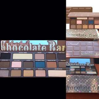 Too Faced Chocolate Bar 🍫 Eyeshadow Palette. 100% Authentic & New