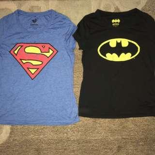 Superman And Batman Tshirt
