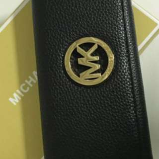 "Michael Kors Fulton Flap Continental Leather Wallet. Women. ""BLACK"" 100% Authentic & New/"