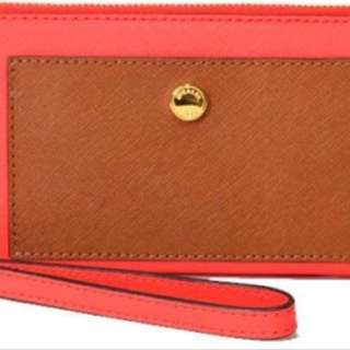 Michael Kors Greenwich Pocket Leather Travel Continental Women's Wallet. 100% Authentic & New
