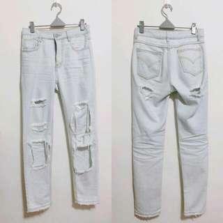 歐美風牛仔褲