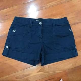 Short Pants Navy Blue