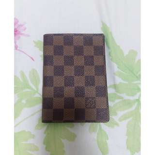 LV passport cover