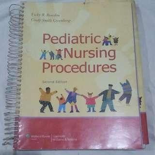 Pediatric Nursing Procedures Book