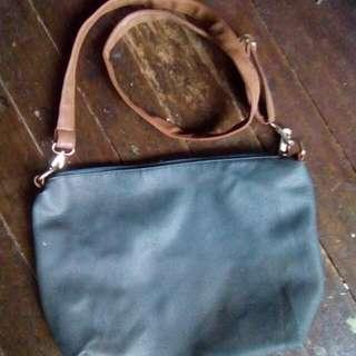 Bluegreen Handbag