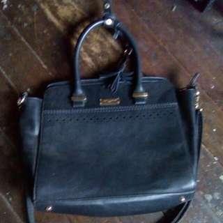David Jones Paris Black Sling Bag