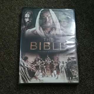 The Bible Miniseries Original DVD (Unopened)
