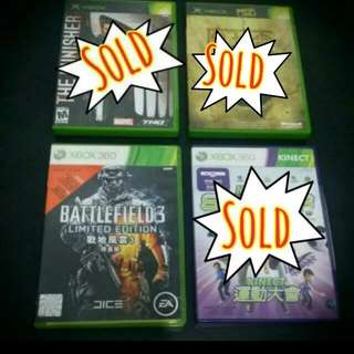 Preowned Xbox Games