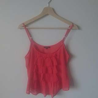 Size 10 | Coral Singlet