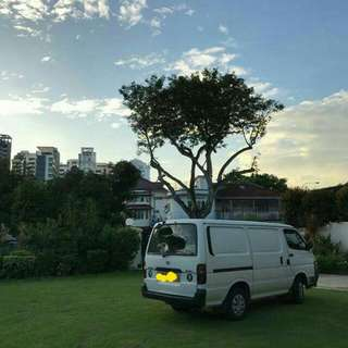 Toyota Hiace Van 5 Door Transport - Monthly Rental
