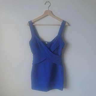 Size 12 I Cobalt Blue Dress